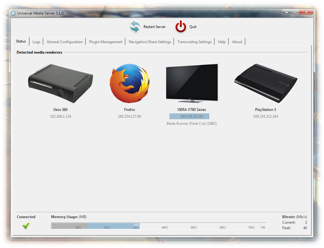 Download Universal Media Server